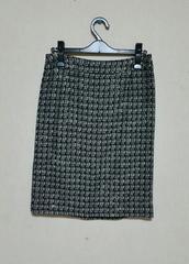 ★11号の方★新品★ロペ★冬物スカート★ブラック×ホワイト★22050円★