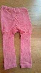 babyGAPラメ入りピンクスパッツ、サイズ70�p、送料140円