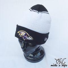 NEWERA ニューエラ レイブンズ ニットキャップ ニット帽 NFL 423