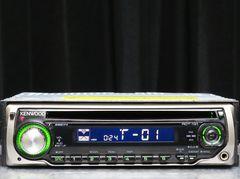 1DIN ケンウッド RDT-131 CD-R/AUX対応 管59f69n