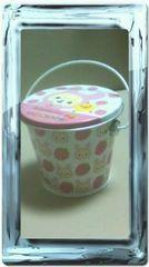 コリラックマミニバケツ缶缶ピンク