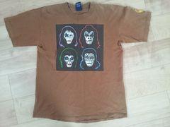 X-Large/KISS コラボTシャツ