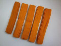 着物&振袖成人式・浴衣に カラー腰紐(こしひも)5本セットオレンジ