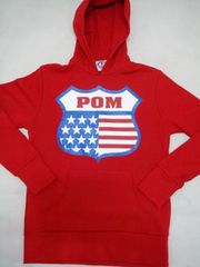 POM(�s�[�X�I���}�[�Y)USA 27�p�[�J�[/���b�hM �A���J�W