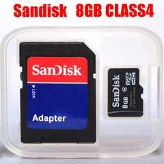 ����140�~�` ���� ���ި�� SANDISK microSDHC ϲ��SDHC 8GB ��ٸ