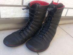 美品★テラプラナ ブーツ黒22.0