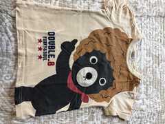 ミキハウス ダブルb アフロTシャツ 90