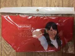非売品! AKB48×WONDA 柏木由紀 ミニトートバッグ