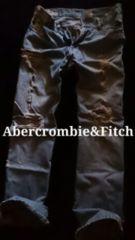�yAbercrombie&Fitch�zVintage Destroyed ��ڰļްݽ� 32/L.Wash