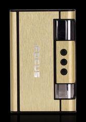シガレットケース ライター付き 1台2役 (ゴールド)