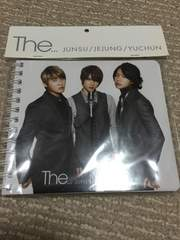 JYJ  『 THE…』 エイベックス公式 グッズ。 リングノート
