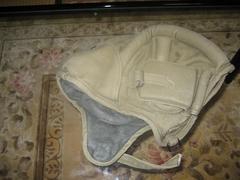 WW2 ソ連軍タンカーカンバスヘルメット(カーキ)