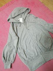 新品☆ARROW♪ふんわりバルーン袖♪スウェットパーカー☆グレーF定価3,800円