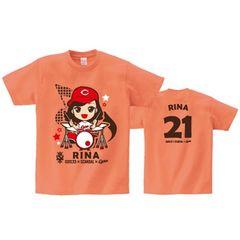 即決 RINA Tシャツ[L] SOUND MARINA 2013× SCANDAL ×CARP