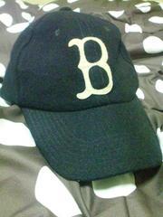格安 BROWNY ベースボールキャップ 紺