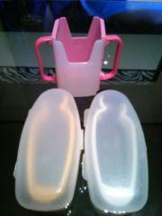 離乳食必需品3個セットマッシャー紙パックドリンクホルダー即決
