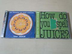ザ・ジュースCDアルバム2枚セット★ THE JUICE