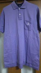 サイズL POLO薄紫ポロシャツ