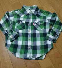 ☆daddy oh daddy チェックシャツ100☆