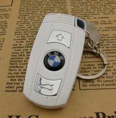 外車のキー風 ライター (ホワイト)