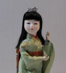 処分】宇平人形【T-9】日本人形