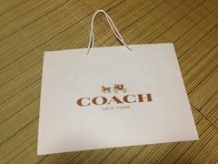 コーチcoachショップ袋ショッパー