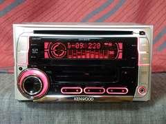 KENWOOD, DPX-50MDS、MP3対応、AUX入力、MDLP