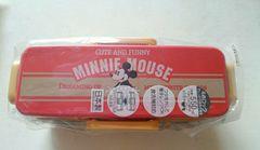 ディズニー ミニーマウス4ロック2段ランチBOX弁当箱
