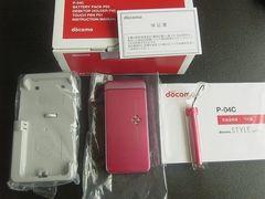 *P-04C/P04C*  新品未使用☆*。.:*:・':★  ピンク