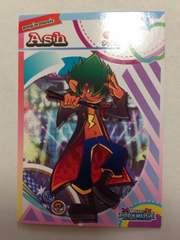 ポップンミュージック エクラル 第2弾 ノーマルカード【Ash】