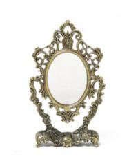 ザマック製 お姫様ミラー 鏡 角度調節OK ファッション雑貨