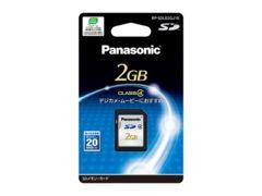 41 Panasonic 2GB�@SD�������[�J�[�h RP-SDL02GJ1K