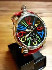 激レアGAGAミラノTYPE高品位Club Face腕時計