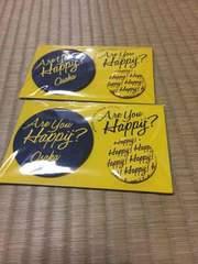 嵐 Are you happy?京セラ限定バッジセット黄色
