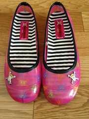 新品ONEPIECEワンピースパンプスMピンクチョッパー靴レインシューズ長靴