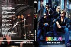 ≪送料無料≫BON JOVI ROCK IN RIO 2008 ボン・ジョヴィ