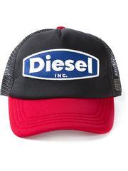 DIESEL ロゴメッシュキャップ ブラック02 ディーゼル