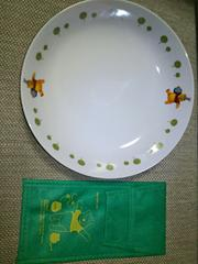 ★くまのプーさん★セブン-イレブンオリジナルパスタ皿★ペンケース★非売品