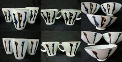 NORITAKE*ノリタケ日陶お茶碗3、湯呑3、カップ2 8点セット