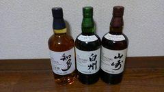 人気ウイスキー三点セット☆