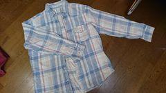 ungrid☆ブルー☆チェックシャツ☆
