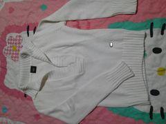 ビッキー・サイズ2・ニットセーター・VICKY・白  長袖