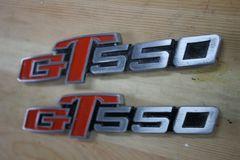 GT550サイドカバーエンブレム・鋳造品・塗装済み