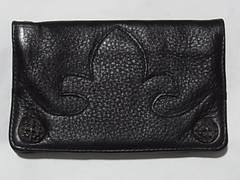 新品エーアンドジーA&Gウォレット財布レザー革フレアニーSV925