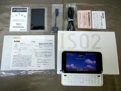 新品未使用IS02★4.1インチタッチパネル液晶microSD
