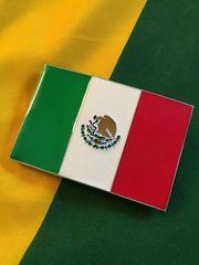 MEXICO*メキシコ*国旗バックル