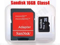 �������ł�644�~�` ���ި�� SANDISK microSDHC ϲ��SDHC 16GB