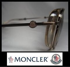 MONCLER サングラス :505 06 ゴールドXブラックスモーク 42120円 本物 新品
