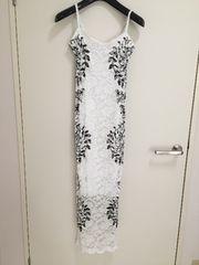 インポート ホワイトレース ドレス Mサイズ