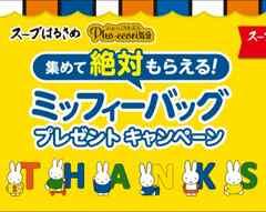 1円スタート即決送料無料♪大きなミッフィーバッグ貰えるキャンペーン応募券2枚